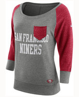 Nike Women's San Francisco 49ers Vintage Crew Long Sleeve T-Shirt