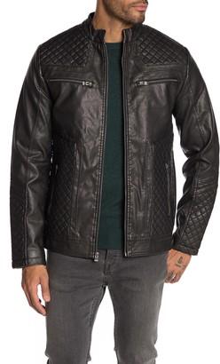 X-Ray Xray Faux Leather Moto Jacket