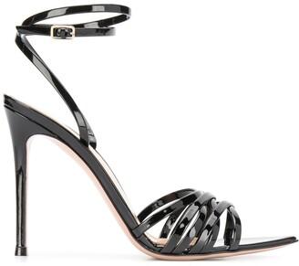 Gianvito Rossi High Heel Patent Sandals
