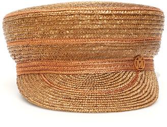 Maison Michel Abby Straw Sailor Hat