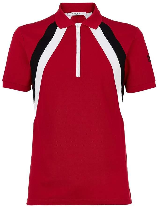Givenchy Stripe Polo Top