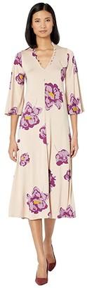 Rachel Pally Jersey Corwin Dress (Peony) Women's Clothing