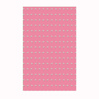 Flamingo Tea Towel Miami Pink