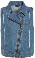 Sisley Waistcoat blue denim