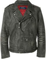 Polo Ralph Lauren worn biker jacket