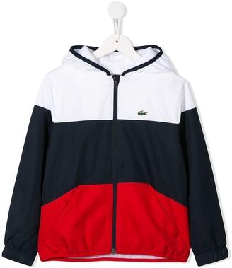 Lacoste Kids TEEN hooded jacket