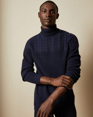 Ted Baker ROLLY Chunky cotton roll neck