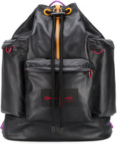 Ami Alexandre Mattiussi AMI X Eastpak rucksack - men - Leather - One Size