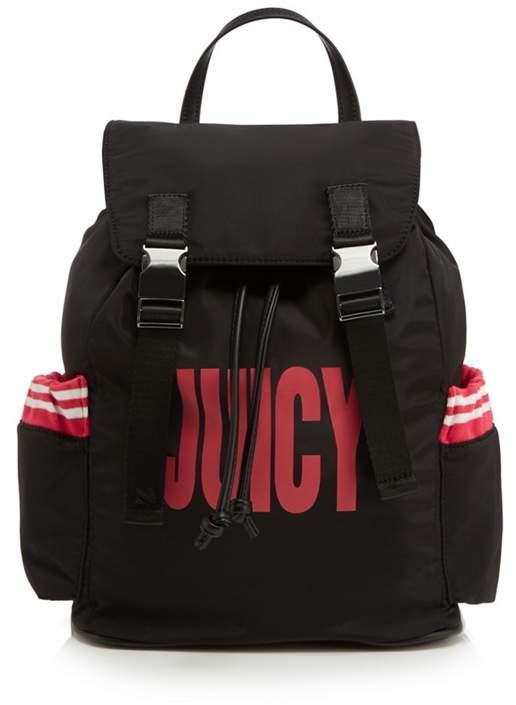 Juicy by Juicy Couture - Black Kinney Logo Backpack