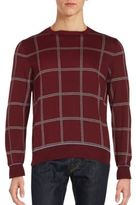Brioni Plaid Silk Blend Pullover