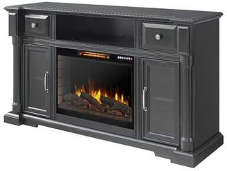 Muskoka Vermont TV Stand for TVs up to 65 inches with Electric Fireplace Included Muskoka