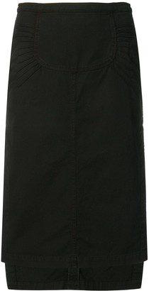 No.21 Asymmetric Midi Skirt