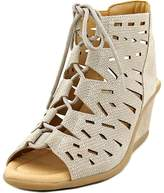 Earth Daylily Women US 8 Gray Wedge Sandal