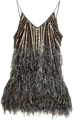 Asos Silver Glitter Dress for Women