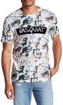 Eleven Paris ELEVENPARIS Basquiat Print Short Sleeve T-Shirt