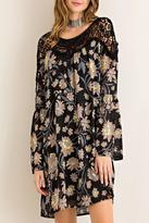 Entro Floral Print Dress