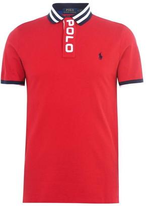 Polo Ralph Lauren Logo Placket Polo Shirt