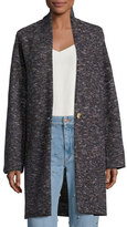 Etoile Isabel Marant Osbert Oversized Single-Button Coat