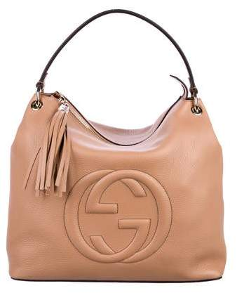 6b00404d25004f Gucci Soho Top Handle - ShopStyle