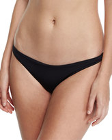 Milly St. Lucia Solid Swim Bottom, Black