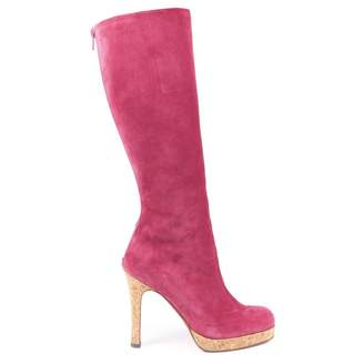 Christian Louboutin \N Pink Suede Boots