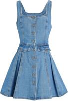 C/Meo Collective Peripheral Sleeveless Denim Dress