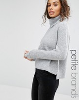Miss Selfridge Petite Cowl Neck Slouch Sweater