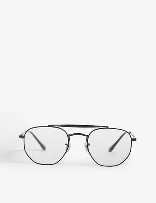 Ray-Ban RB3648V metal pilot-frame glasses