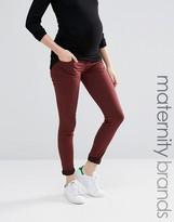 Mama Licious Mama.licious Mamalicious Over The Bump Skinny Jeans