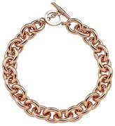Amanda Wakeley Chunky Rose Gold Necklace