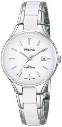 Pulsar Women's Analogue Analog Quartz Watch with Stainless Steel Strap PH7267X1