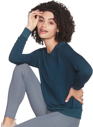 Skechers Women's Solid French Terry Sweatshirt