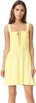Flynn Skye Leila Lace Up Mini Dress