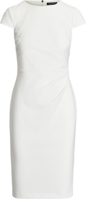 Ralph Lauren Jersey Cap-Sleeve Dress