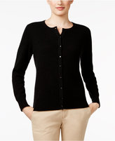 Charter Club Petite Cashmere Cardigan, Only at Macy's