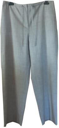 Cerruti \N Grey Wool Trousers