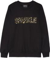 Markus Lupfer Anna embellished cotton sweatshirt