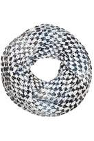 Fraas White Loop Scarf