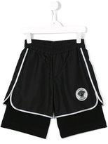 Young Versace - Medusa track shorts - kids - Cotton/Polyester/Spandex/Elastane - 6 yrs