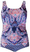 Poolproof Paisley Scoop Back One Piece