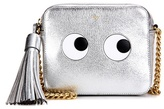Anya Hindmarch Eyes Right Metallic Leather Cross-body Bag