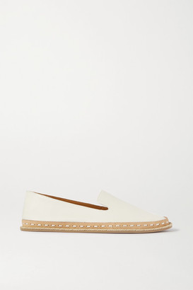 Rag & Bone Cairo Leather Espadrilles - White