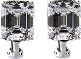 FANTASIA JEWELRY Emerald Cut Stud Earrings