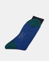 Colour-block Socks