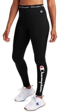 Champion Women's Authentic Logo Leggings