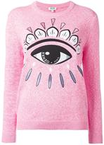 Kenzo Eye jumper - women - Cotton - M