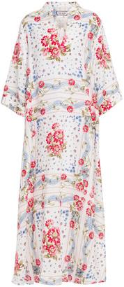 Paul & Joe Floral-print Linen-gauze Kaftan