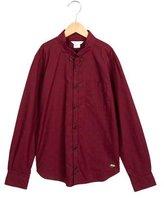 Little Marc Jacobs Boys' Lion Print Button-Up Shirt