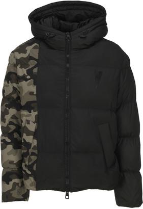 Neil Barrett Camouflage Panel Padded Jacket