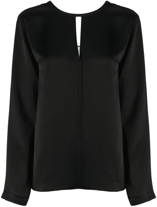 Forte Forte Cut-Out Neckline Blouse